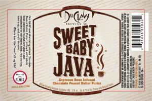 DuClaw Sweet Baby Java beer Label Full Size