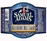 Sam Adams Blueberry Hill Lager beer