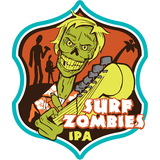 Iowa Brewing Co. Surf Zombies beer