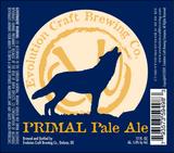Evolution Primal Pale Ale beer