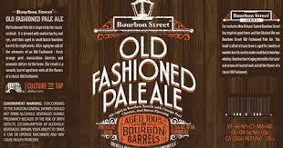 Abita Bourbon Street Old Fashioned Pale Ale beer Label Full Size