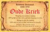 Hanssens Kriek 2007 beer