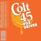 Colt 45 Pile Driver beer