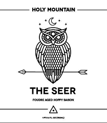 Holy Mountain The Seer beer Label Full Size