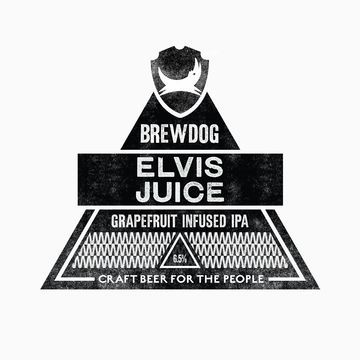 BrewDog Elvis Juice beer Label Full Size
