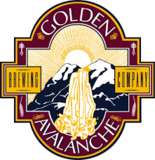 Golden Avalanche Blueberry Lager beer