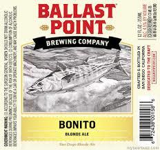 Ballast Point Bonito Blonde beer Label Full Size