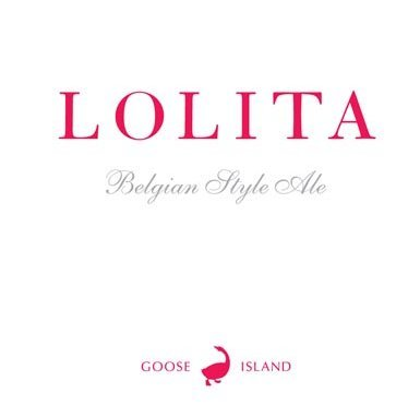 Goose Island Lolita 2017 beer Label Full Size