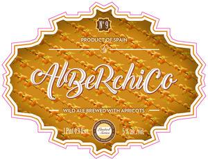 Alberchico beer Label Full Size