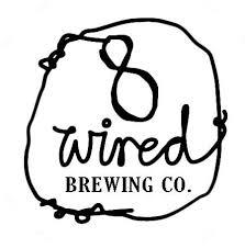 8 Wired Flat White beer Label Full Size