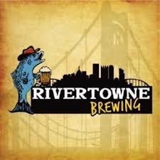 Rivertowne Blueberry IPA beer Label Full Size