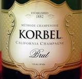 Korbel Brut Champagne wine