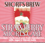 Short's Strawberry Short's Cake Beer