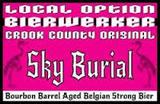 Local Option Sky Burial 2015 beer