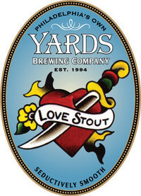 Yards Love Stout Nitro beer Label Full Size