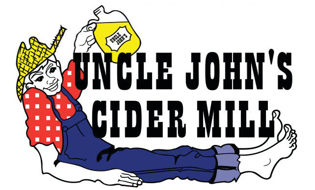 Uncle John's Blueberry Cider beer Label Full Size
