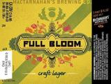 MacTarnahan's Full Bloom Craft Lager beer