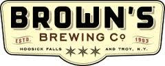 Browns Imperial Brown Ale beer Label Full Size