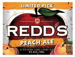 Redd's Peach Ale beer Label Full Size