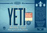 Great Divide Barrel Aged Yeti Beer