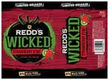 Redd's Wicked Strawberry Kiwi beer