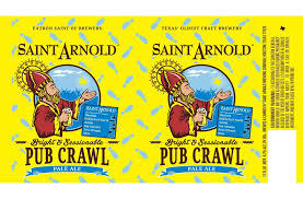 Saint Arnold Pub Crawl Ale Beer