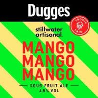 Dugges + Stillwater Mango Mango Mango beer Label Full Size