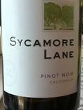 Sycamore Lane Pinot Noir wine