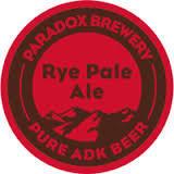 Paradox Rye Pale Ale Beer
