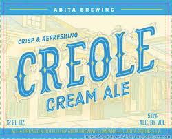Abita Creole Cream Ale beer Label Full Size