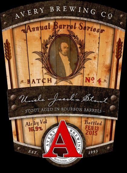 Avery Uncle Jacob's Stout 2017 Beer