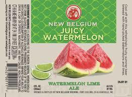 New Belgium Juicy Watermelon Beer