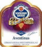 Schneider Weisse Aventinus TAP6 beer Label Full Size