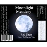 Moonlight Red Dress beer Label Full Size