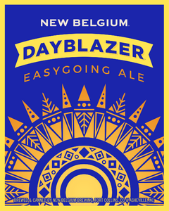New Belgium Dayblazer Easy Going Ale beer Label Full Size