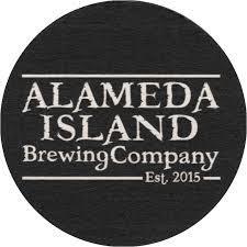 Alameda Island Boyington Black IPA beer Label Full Size