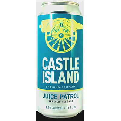 Castle Island Juice Patrol beer Label Full Size