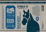 Stable 12 Wild West IPA Beer