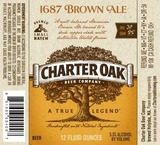 Charter Oak 1687 Brown Ale beer