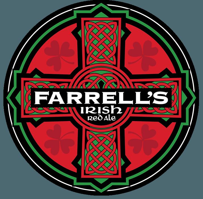 Nebraska Brewing Co. Farrells Irish Red beer Label Full Size