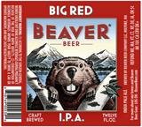 Beaver Big Red IPA beer