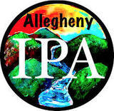 Four Mile Allegheny IPA beer Label Full Size
