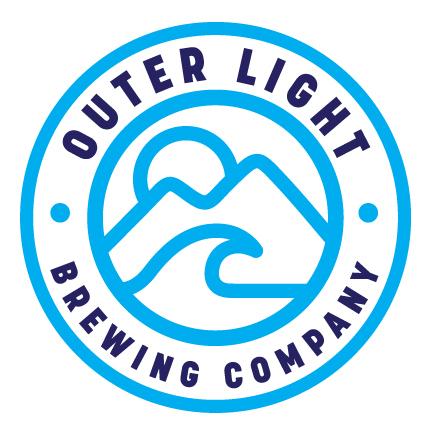 Outer Light Cloud Break beer Label Full Size