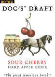 Doc's Sour Cherry Cider Beer
