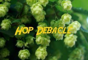 O'so Hop Debacle beer Label Full Size