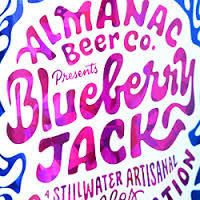 Almanac Blueberry Jack beer Label Full Size