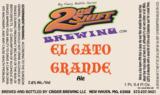 2nd Shift El Gato Grande beer