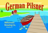 Millstream German Pilsner beer