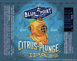 Blue Point Citrus Plunge Beer