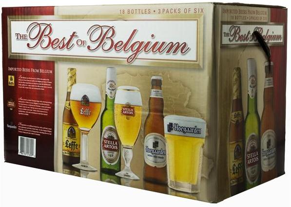 Best of Belgium Variety Pack beer Label Full Size